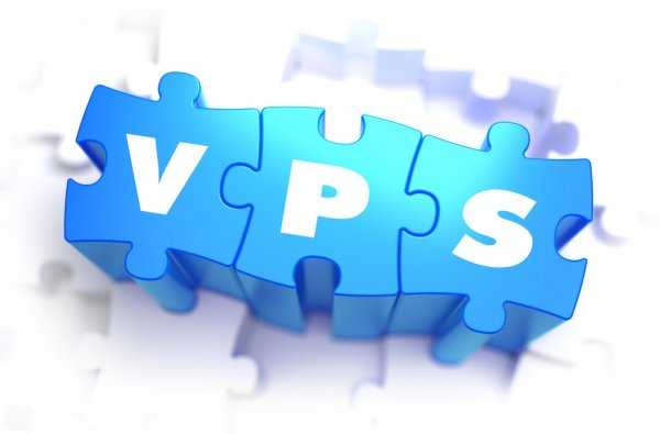 VPS hosting - stock image